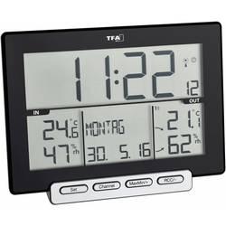 TFA Dostmann Trinity brezžični termometer/vlagomer črna