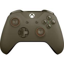 Handkontroll Microsoft Wireless Controller olive green Xbox One, PC Olivgrön