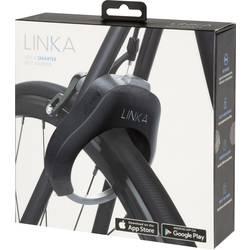 Ključavnica za okvir kolesa Linka Bluetooth Bicycle lock Črna Z alarmom, Z detektorjem gibanja