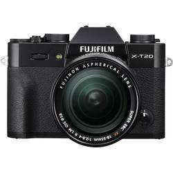 Systemkamera Fujifilm X-T20 24.3 MPix inkl. XF 18-55 mm Sort