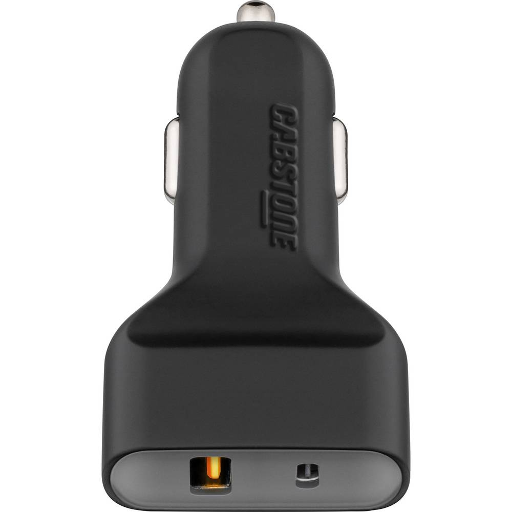USB-oplader Cabstone Adaptateur de charge de voiture CAB USB (6 A 2 x USB) QC3.0 + USB C 45208 Lastbil, Personbil Udgangsstrøm m