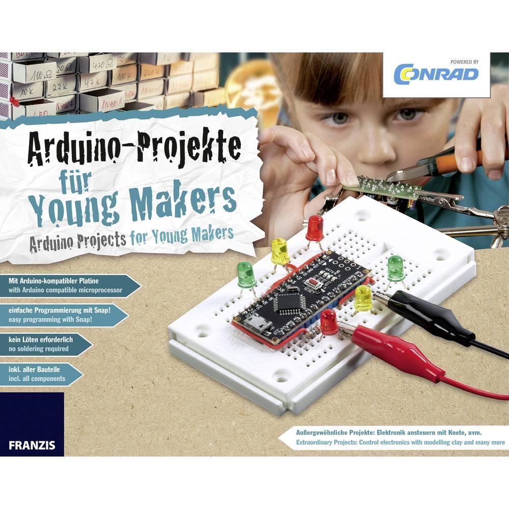 Maker Kit Conrad Components Conrad Arduino 15000, komplet za sestavljanje od 14. leta starosti naprej