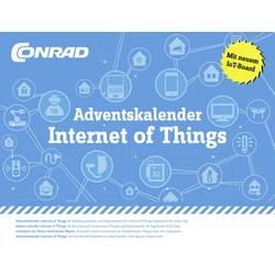 Adventskalender Conrad Components Internet of Things Expriment, Byggsats från 14 år