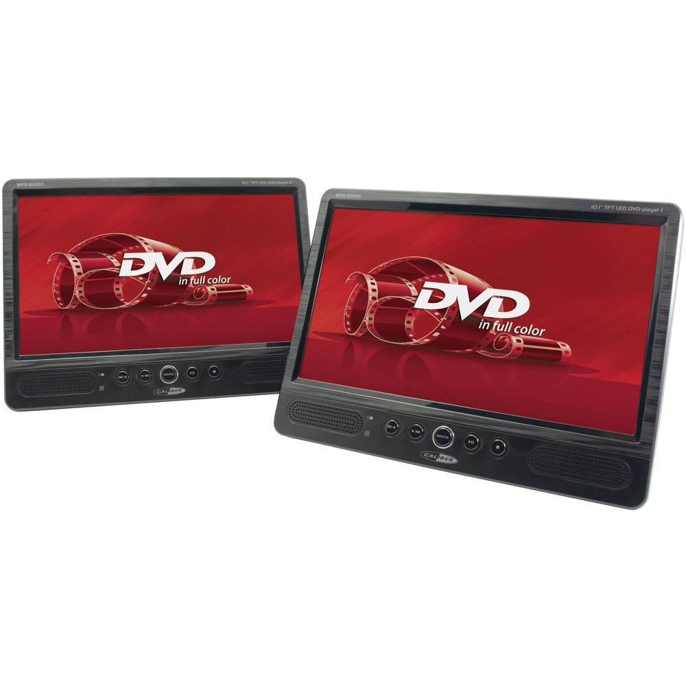 DVD-predvajalnik za avtomobilski vzglavnik z 2 monitorjema Caliber Audio Technology MPD-2010T