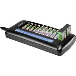 Batteriladdare NiCd, NiMH Basetech BTL-14 AAA (R3), AA (R6), 9V block (6F22)
