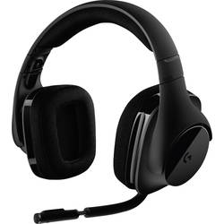 Gaming-headset Logitech Gaming G533 Over Ear Svart