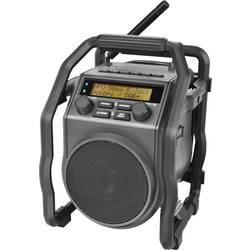 DAB+ Radio til byggepladsen PerfectPro UBOX 400R Sort
