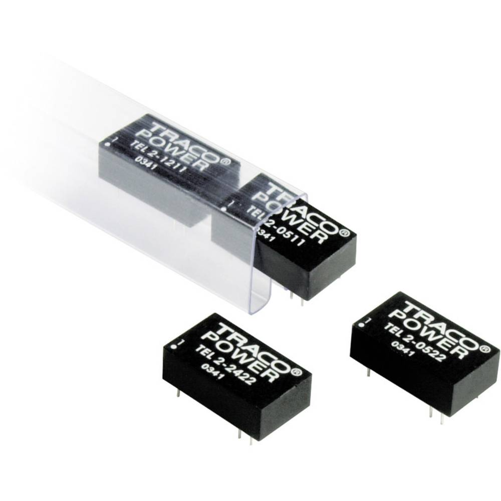 DC/DC pretvornik za tiskano vezje TracoPower TEL 2-4823 48 V/DC 15 V/DC, -15 V/DC 67 mA 2 W št. izhodov: 2 x