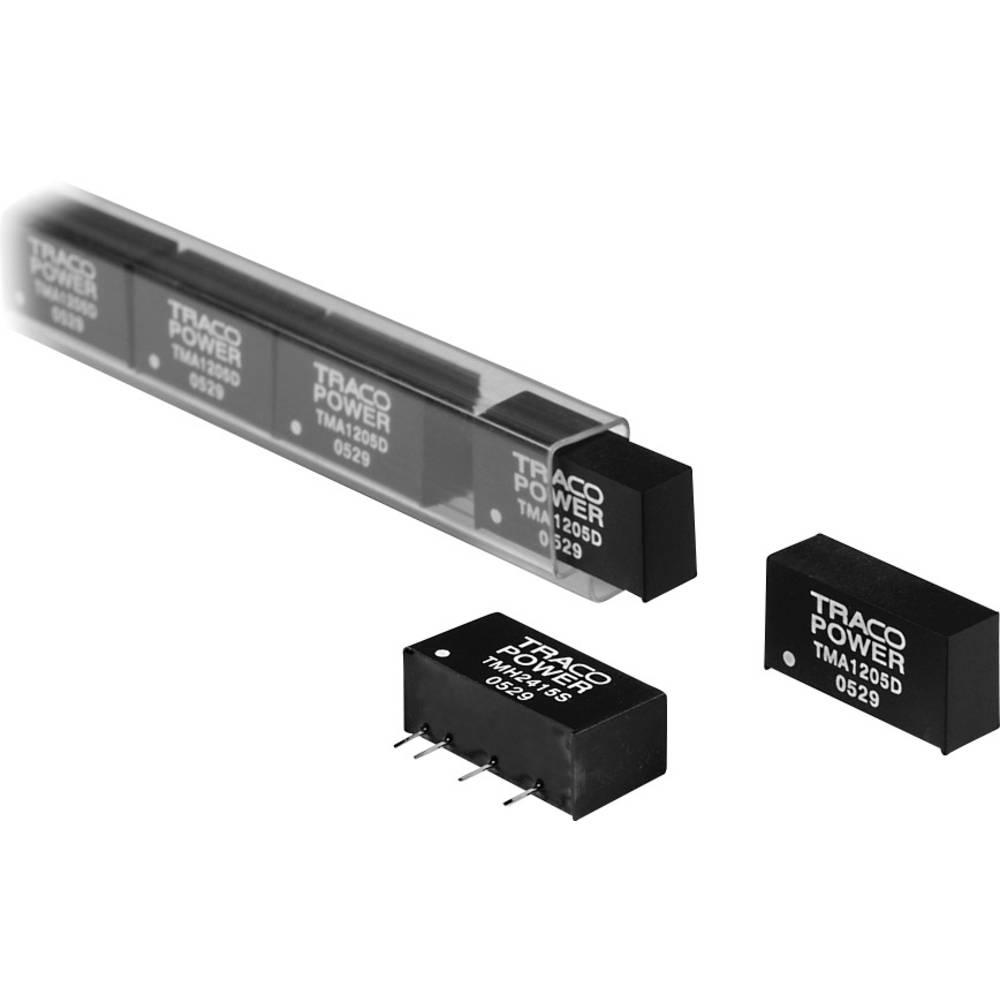 DC/DC pretvornik za tiskano vezje TracoPower TMA 0512S 5 V/DC 12 V/DC 80 mA 1 W št. izhodov: 1 x