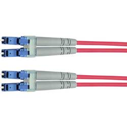 Telegärtner Steklena vlakna LWL Priključni kabel [1x Moški konektor LC - 1x Moški konektor LC] 9/125 µ Singlemode OS2 2 m