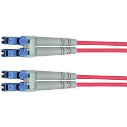 Telegärtner Steklena vlakna LWL Priključni kabel [1x Moški konektor LC - 1x Moški konektor LC] 50/125 µ Multimode OM2 3 m