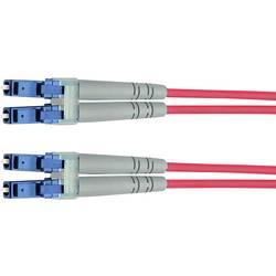 Telegärtner Steklena vlakna LWL Priključni kabel [1x Moški konektor LC - 1x Moški konektor LC] 50/125 µ Multimode OM3 5 m