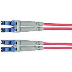 Telegärtner Steklena vlakna LWL Priključni kabel [1x Moški konektor LC - 1x Moški konektor LC] 50/125 µ Multimode OM3 10 m