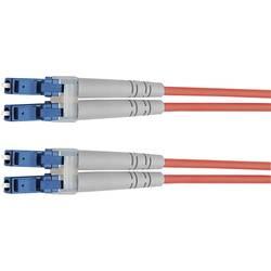 Telegärtner Steklena vlakna LWL Priključni kabel [1x Moški konektor LC - 1x Moški konektor LC] 50/125 µ Multimode OM4 3 m
