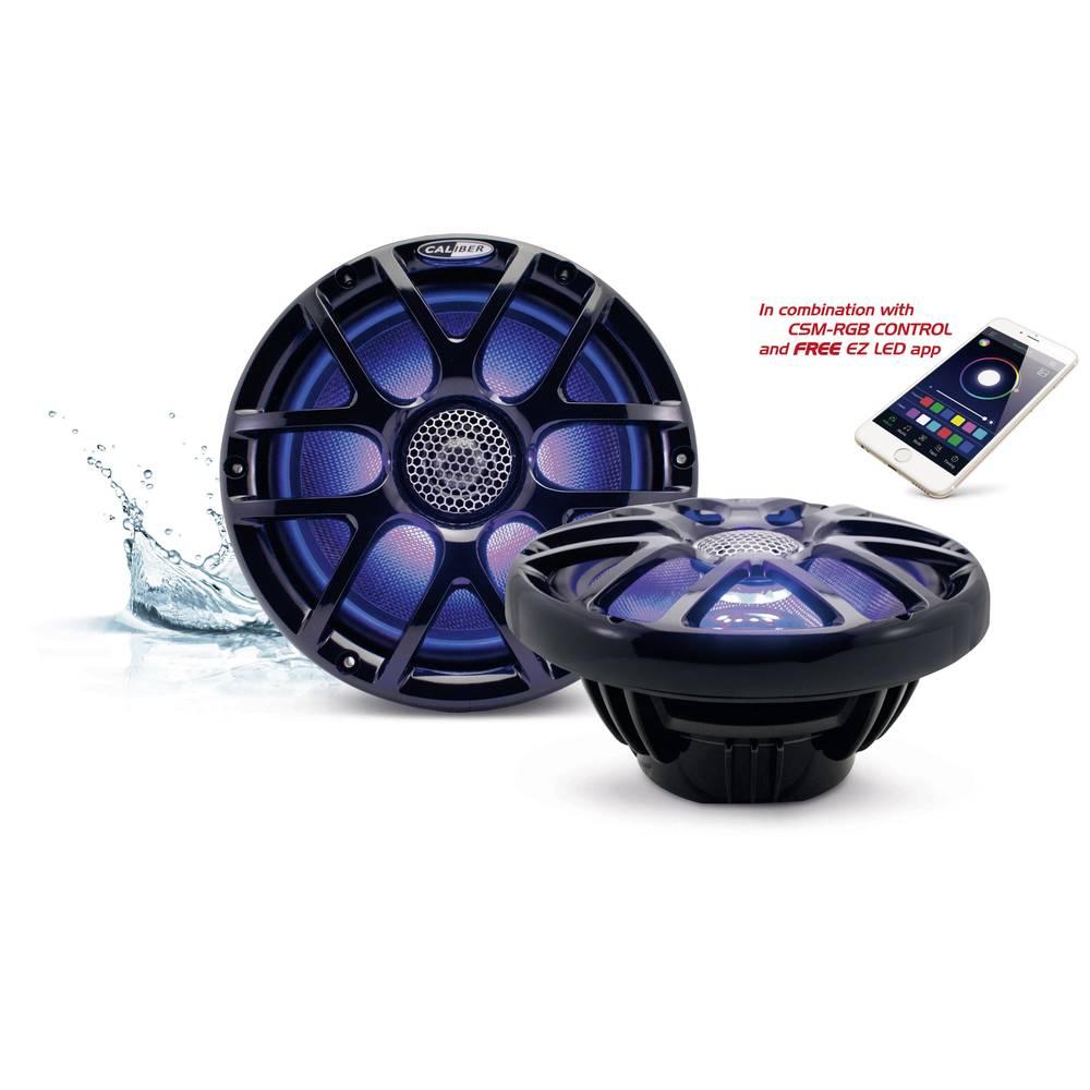 2-smerni koaksialni vgradni zvočnik 160 W Caliber Audio Technology CSM20RGB/B