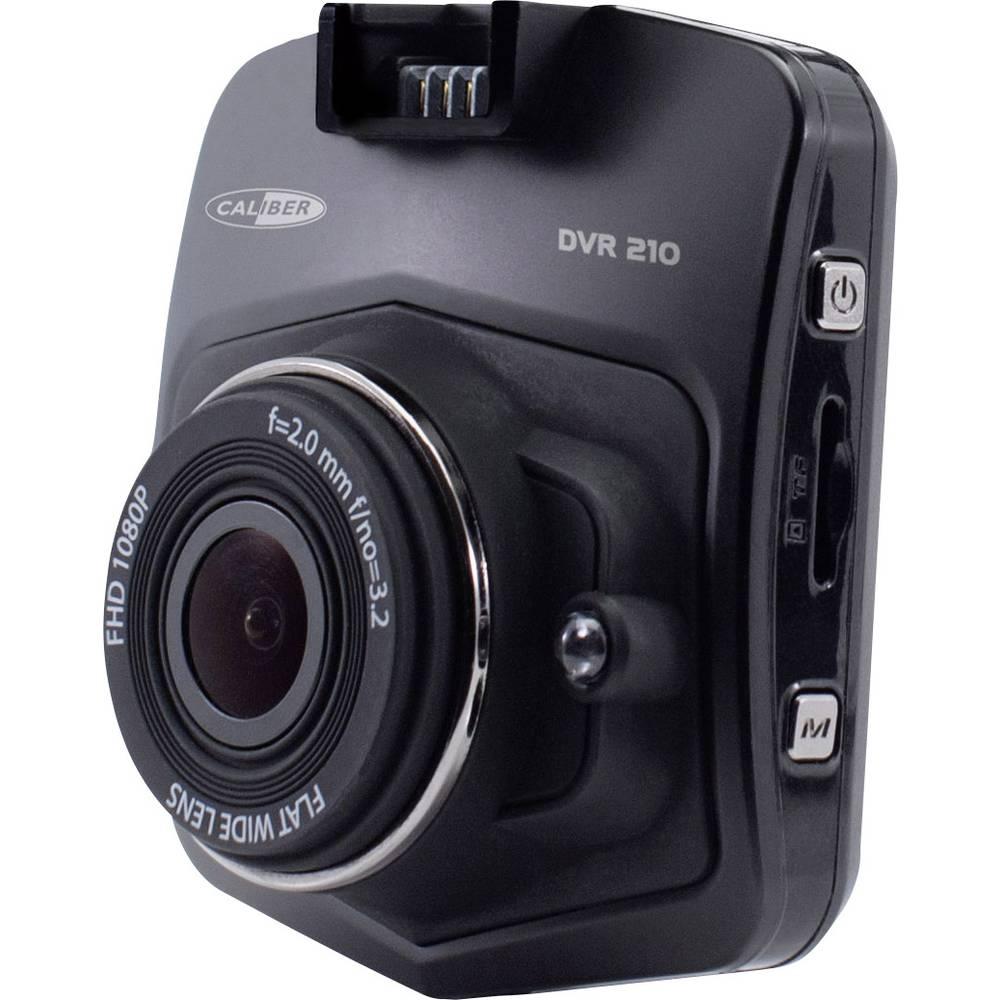Avtomobilska kamera z GPS-sistemom Caliber Audio Technology DVR210 Razgledni kot - horizontalni=140 ° Akumulator, Zaslon, Mikrof