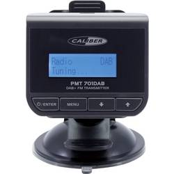 DAB + sprejemnik Caliber Audio Technology PMT701DAB Funkcija polnjenja, Nosilec z vakumskim priseskom