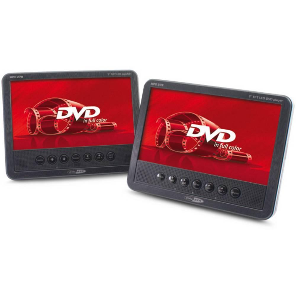 DVD-predvajalnik za avtomobilski vzglavnik z 2 monitorjema Caliber Audio Technology MPD278
