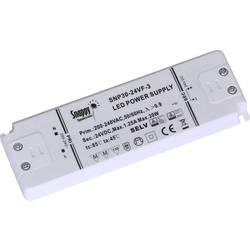 led transformator konstantni napon Dehner Elektronik Snappy SE30-12VL 30 W 0 - 2.5 A 12 V/DC bez prigušivanja, odobrenje namješt