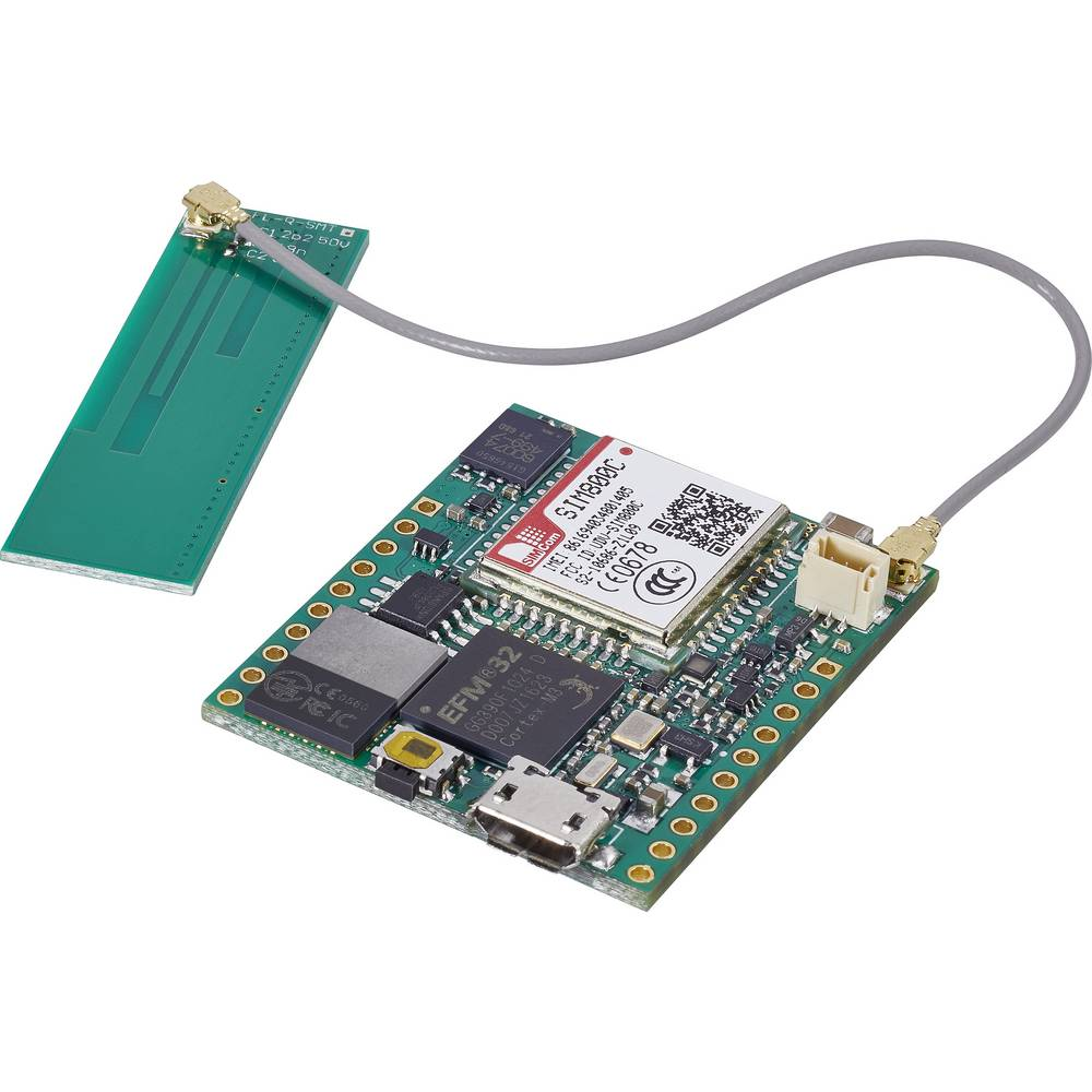 Začetniški komplet C-Control Embedded GSM modul, 32 Bit ARM Cortex-M3 MCU