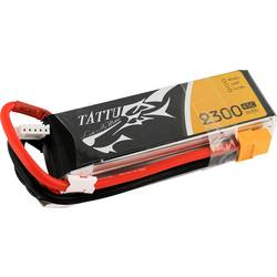 LiPo akumulatorski paket za modele 14.8 V 2300 mAh Broj ćelija: 4 45 C Tattu Softcase XT60