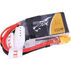 LiPo akumulatorski paket za modele 11.1 V 450 mAh Broj ćelija: 3 75 C Tattu Softcase XT30