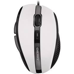 CHERRY MC 3000 usb miška optični ergonomski bela