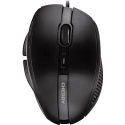 CHERRY MC3000 USB wlan miška optični ergonomski črna