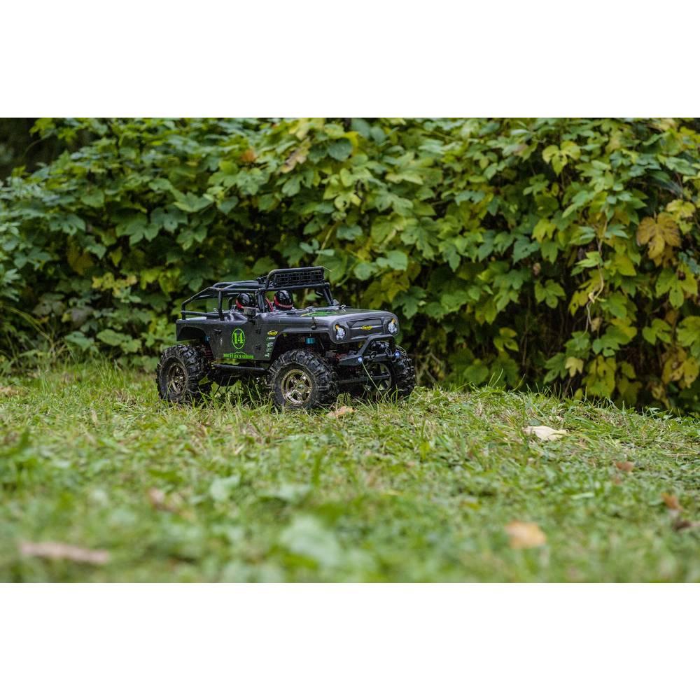 Carson Modellsport Mountain Warrior s ščetkami 1:10 RC Modeli avtomobilov Elektro Crawler Pogon na vsa kolesa (4WD) 100% RtR 2,4