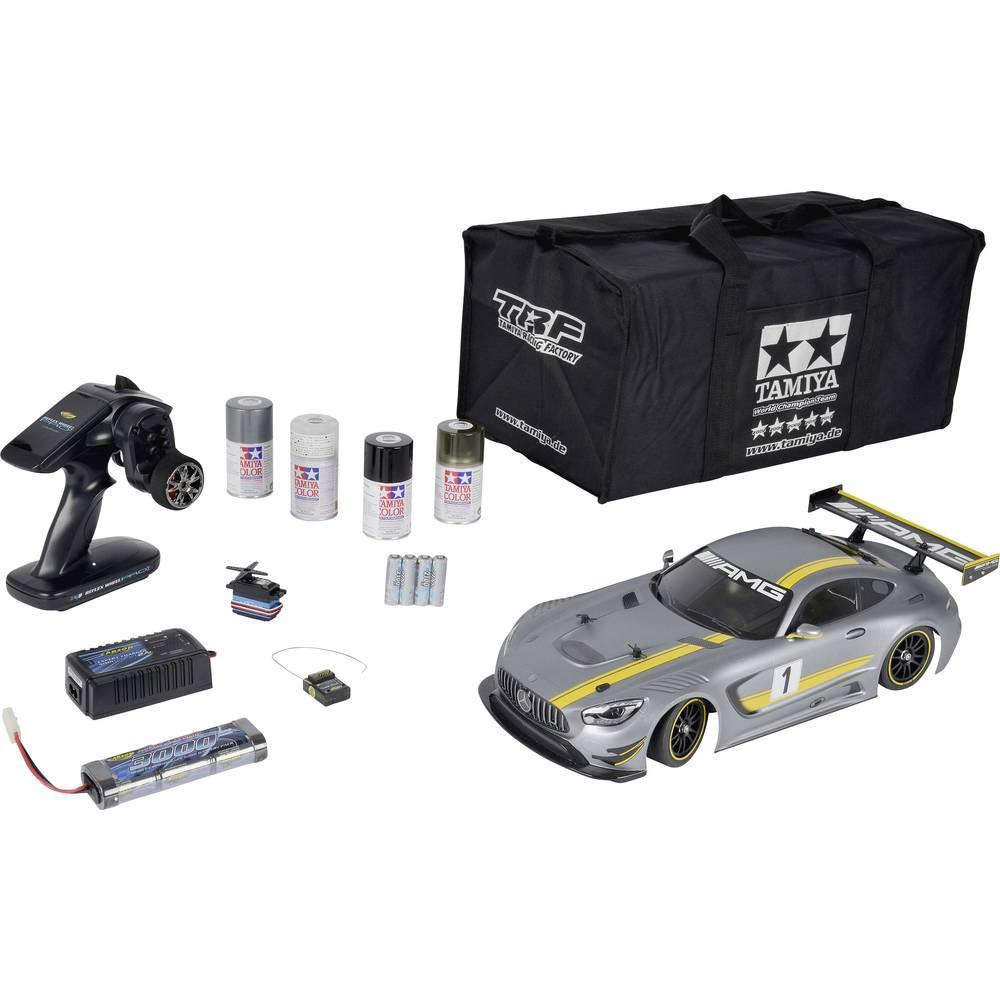 Tamiya TT-02 Mercedes-AMG GT3 s ščetkami 1:10 RC Modeli avtomobilov Elektro Cestni model Pogon na vsa kolesa (4WD) Varčevalni ko