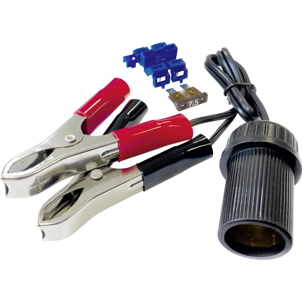 BAAS vtičnica za cigaretni vžigalnik s sponkami in varovalko BA11 maks. tokovna obremenitev=10 A