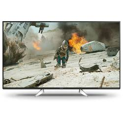 LED-TV 123 cm 49 cola Panasonic TX-49EXW604 EEK A DVB-T2, DVB-C, DVB-S, UHD, Smart TV, WLAN, PVR ready, CI+ crne boje, srebrne b