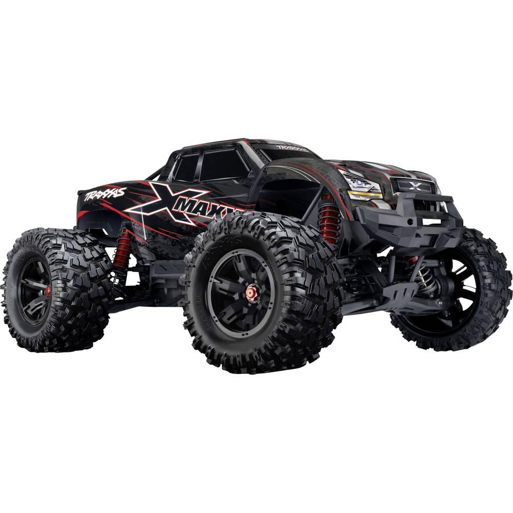 Traxxas X-Maxx 8S rdeča brez ščetk RC modeli avtomobilov elektro monster truck pogon na vsa kolesa (4wd) RtR 2,4 GHz