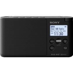 Sony XDR-S41D Namizni radio DAB+, DAB, UKW Črna