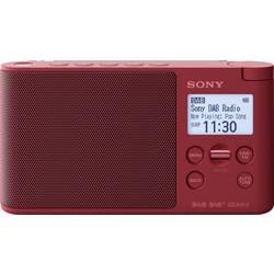 Sony XDR-S41D Namizni radio DAB+, DAB, UKW Rdeča