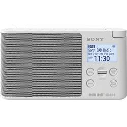 Sony XDR-S41D Namizni radio DAB+, DAB, UKW Bela
