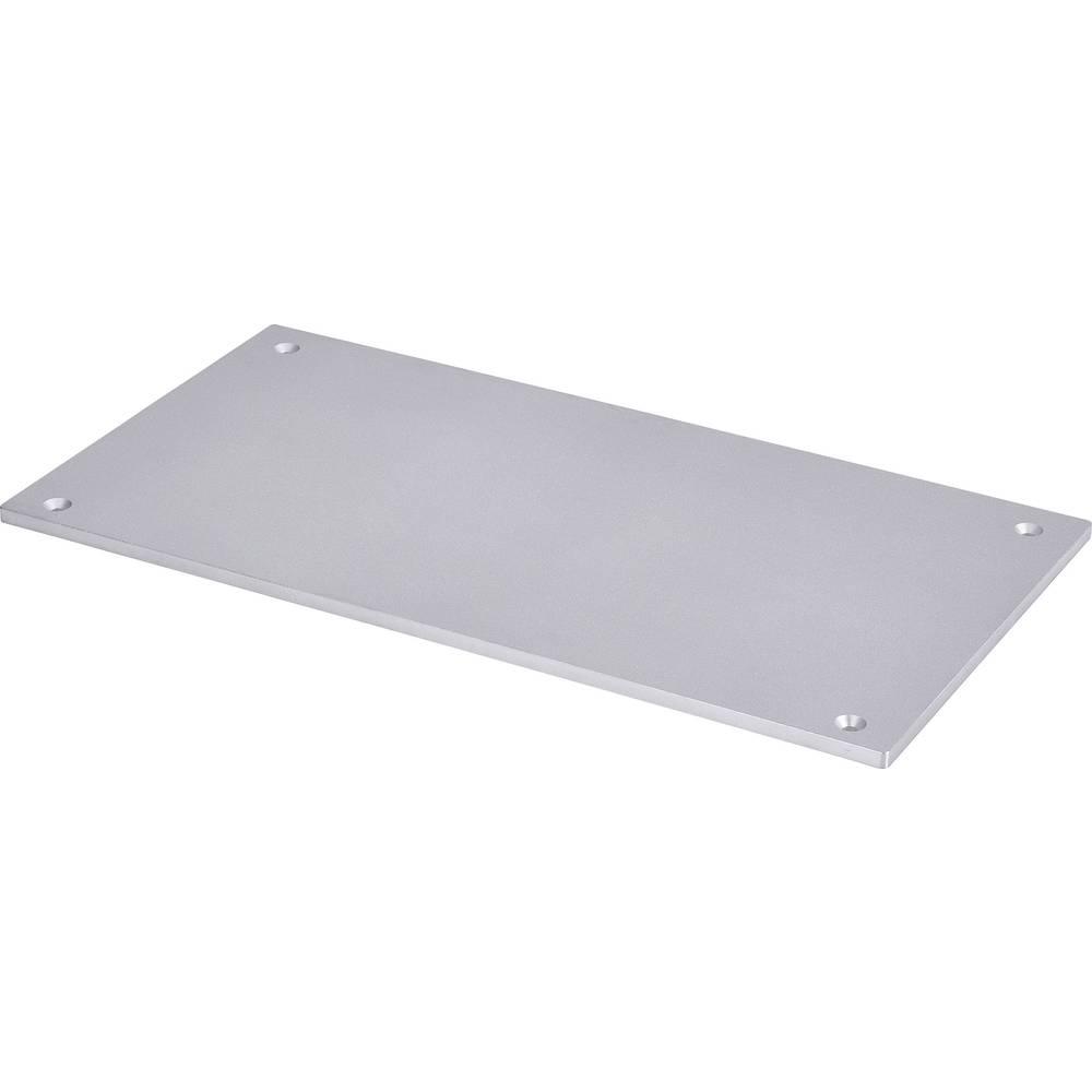 Aluminijska ploča s umetanjem, pogodno za: Renkforce RF500, renkforce RF500 komplet za sastavljanje