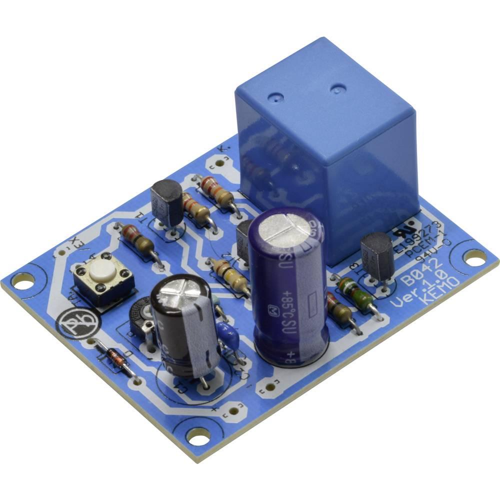 Časovni rele - modul Kemo B042 12 V/DC 2 s - 5 min