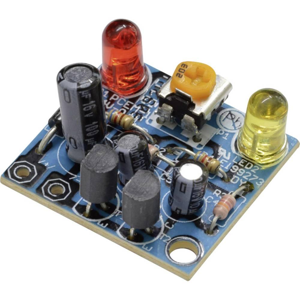 Utripajoča luč - komplet za sestavljanje Kemo B092 6 V/DC, 9 V/DC, 12 V/DC