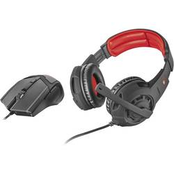 Gaming-headset Trust GXT 784 Over Ear Svart