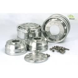 Thicon Models 1:14 Tovornjak Platišča Aluminij Euro-Optik Aluminij 2 KOS