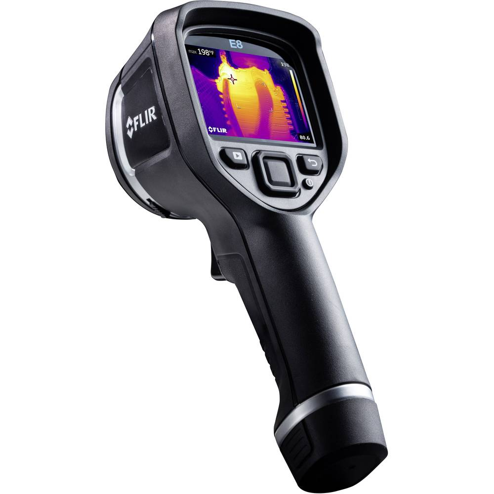 Termovizijska kamera FLIR -20 do +250 °C 320 x 240 pikslov 9 Hz kalibrirana po DAkkS standardu
