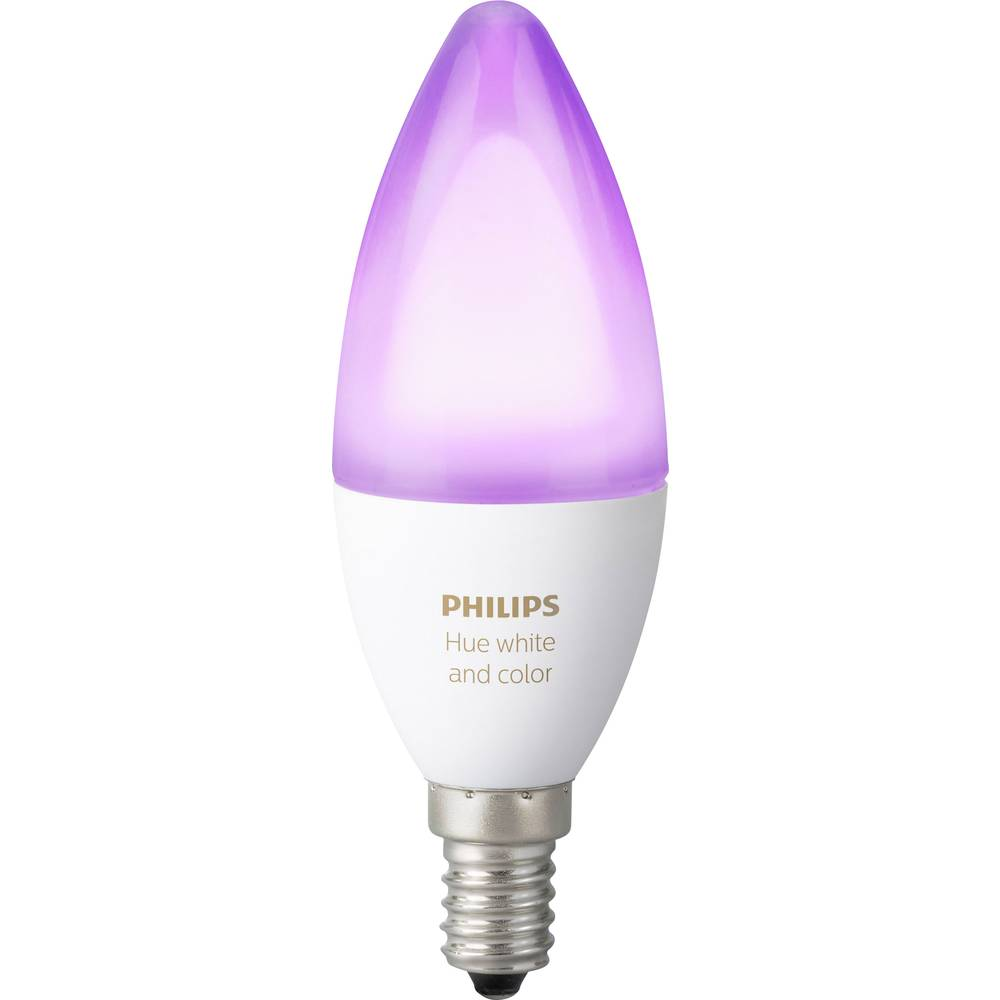 Philips Lighting Hue LED-lampa (1 st) White and color ambiance E14 6.5 W RGBW 1 st