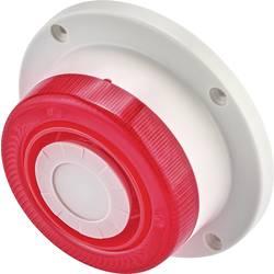 Alarmna sirena z utripajočo lučjo 112 dB zunanja uporaba Basetech