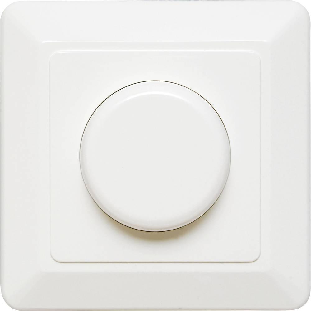 Podometni zatemnilnik, primeren za: LED žarnice, klasične žarnice, halogenske žarnice, bele barve Ehmann 4660c0800