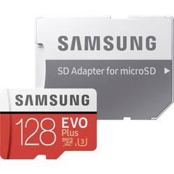Samsung EVO Plus microSDXC-kartica 128 GB Class 10, UHS-I, UHS-Class 3 Vključen SD-adapter