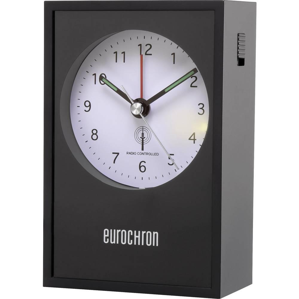Eurochron EFW 7002 radijsko vodena budilka črne barve