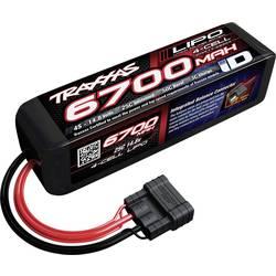 Modelbyggeri-batteripakke (LiPo) 14.8 V 6700 mAh Celletal: 4 25 C Traxxas Hardcase Traxxas iD