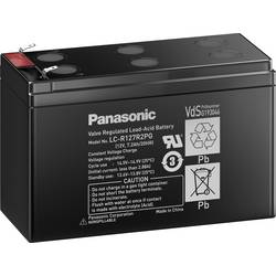 Svinčev akumulator 12 V 7.2 Ah Panasonic 12 V 7,2 Ah LC-R127R2PG1 svinčevo-koprenast (AGM) (Š x V x G) 151 x 94 x 65 mm ploščati