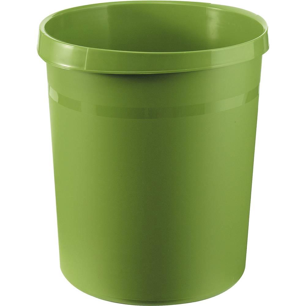 HAN Koš za smeće GRIP 18190-05 18 l (Ø x V) 312 mm x 345 mm Polipropilen Zelena 1 ST